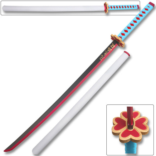 Fantasy Foam Samurai Sword Demon Mitsuri Kanroji Slayer Anime Cosplay New