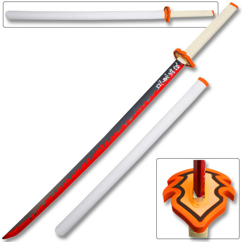 Foam Demon Slayer Fantasy Samurai Replica Sword Blade Katana Cosplay Anime