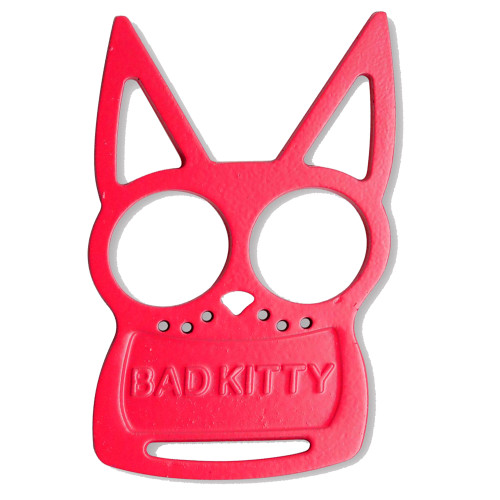Pink Bad Kitty Iron Fist Knuckleduster