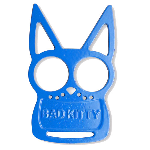 Blue Bad Kitty Iron Fist Knuckleduster