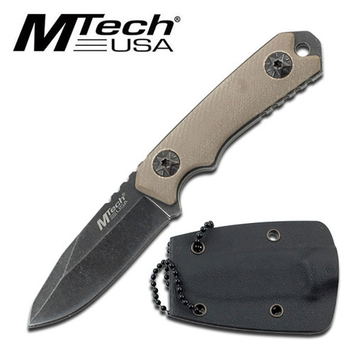 "MTech USA MT-20-30 NECK KNIFE 4.75"" OVERALL"