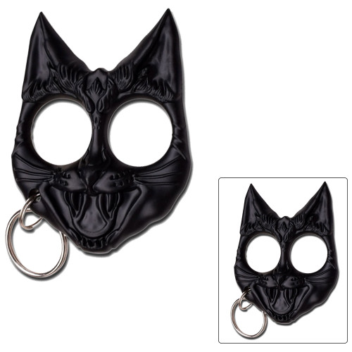 Black Cat Knuckles key chain