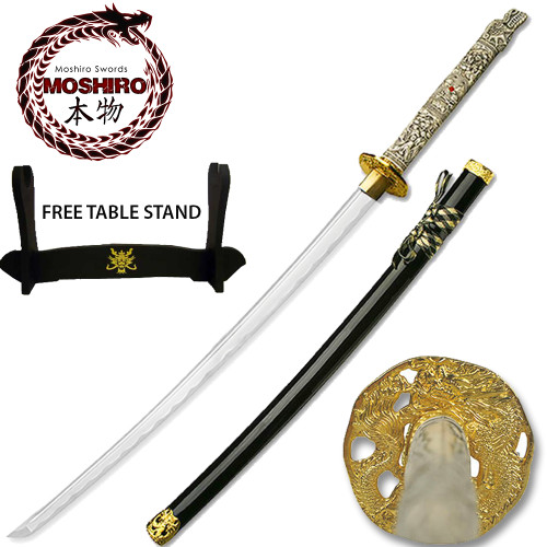 MOSHIRO 3rd Gen Highlander Connor MacLeod Katana Sword Close Mouth