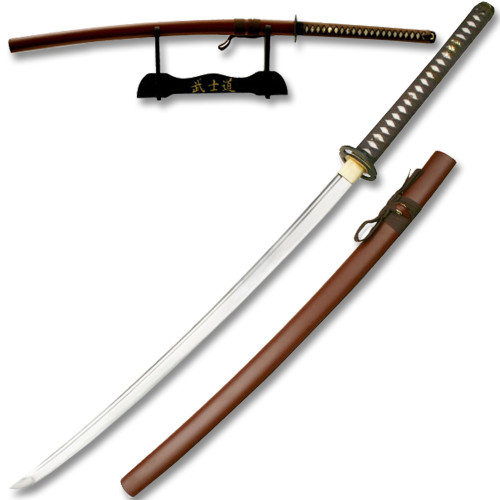 Ten Ryu 1045 Carbon Steel - Best Miyamoto Sword long Handle