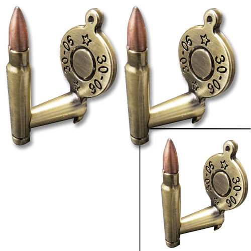 30-06 BULLET GUN OR SWORD HANGER