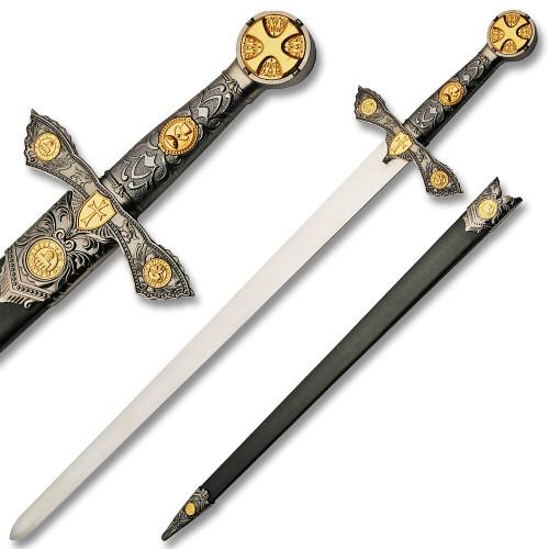 KNIGHTS TEMPLAR SWORD (GOLD)