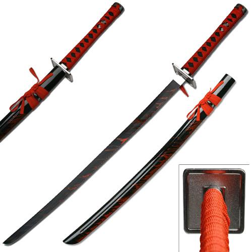 Leo's Katana Replica Sword  Black Blade