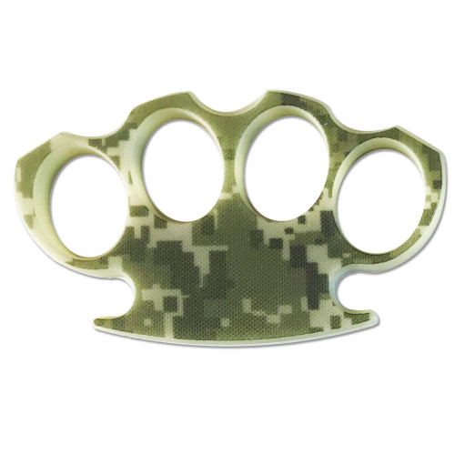 TACTICAL G10 KNUCKLE DESERT DIGITAL CAMO Belt Buckle & Knuckle