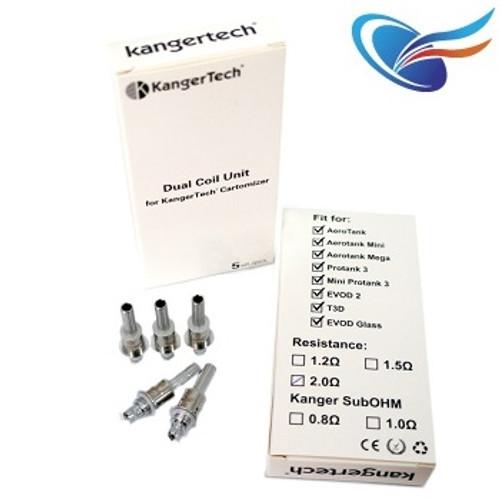 Kanger Dual & Sub Ohm coils
