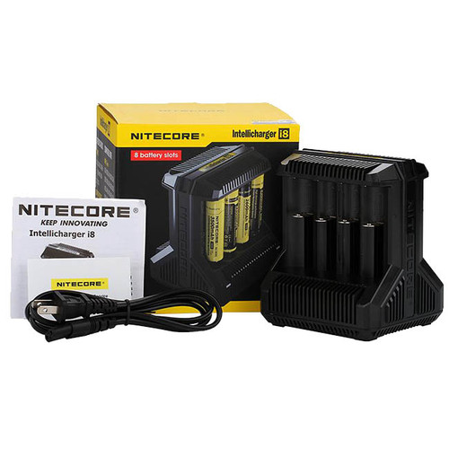 Nitecore i8 eight Channel Battery Charger