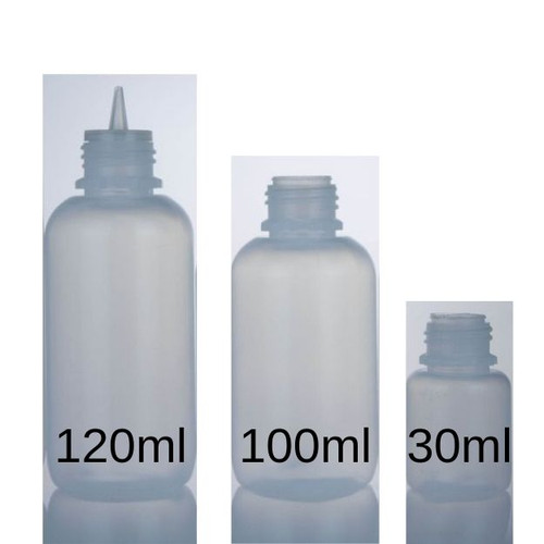 LDPE Big Mouth Boston Bottles