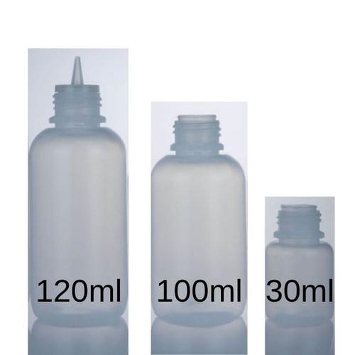 LDPE Big Mouth Boston Bottles
