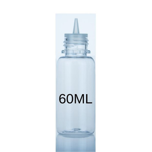PET Big Mouth Boston Bottle 60ml