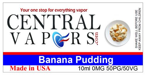 Central Vapors Label