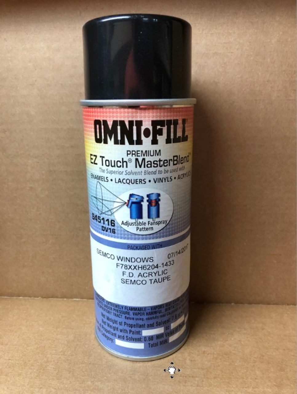 Semco taupe touch up spray