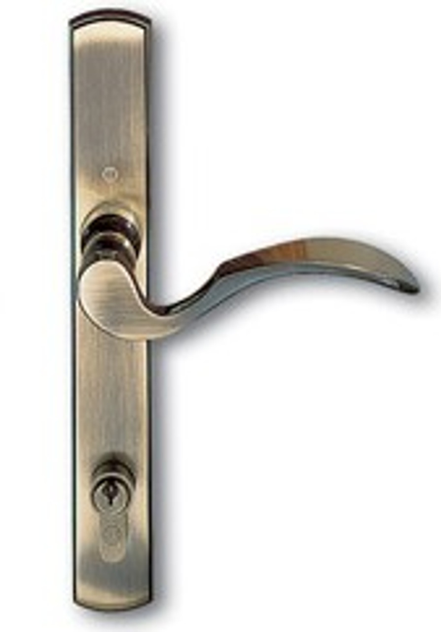.Handle 3-point Active handle for french double swing door