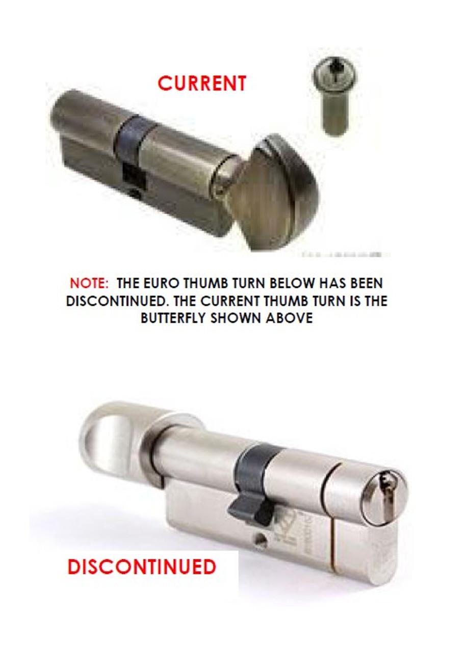 .Handle 3-point Active handle for french double swing door