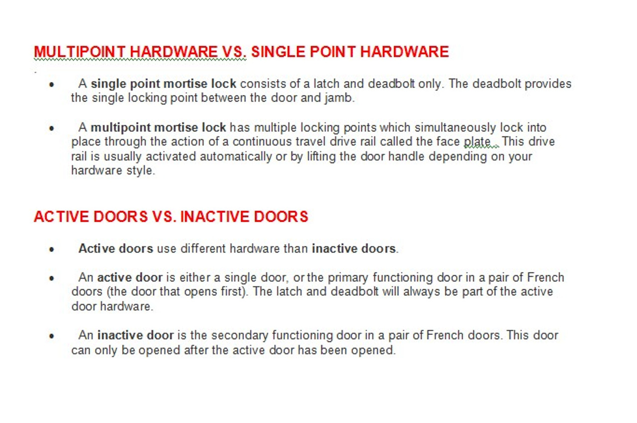 Hoppe 20mm(3/4'' faceplate) Shootbolt gear with (1)'' top & bottom shoot bolt throw for IN- ACTIVE door