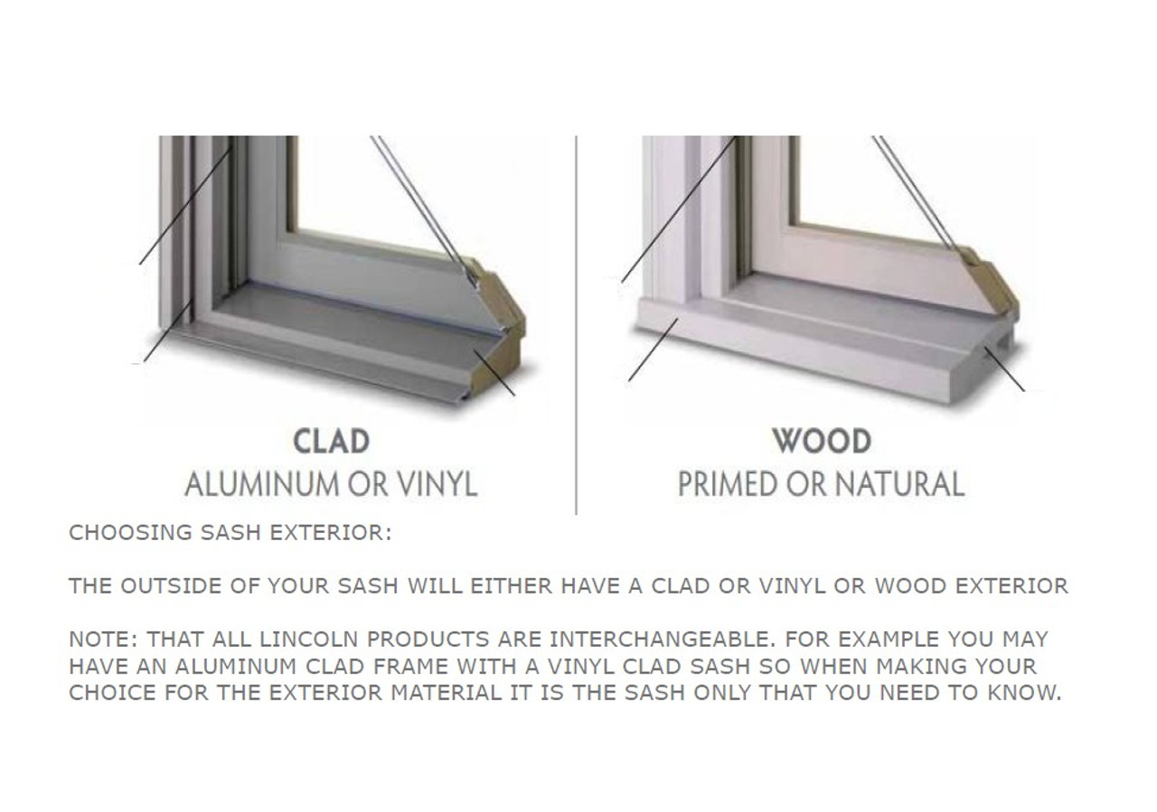 Lincoln  replacement casement sash (for windows from 1985 to present)