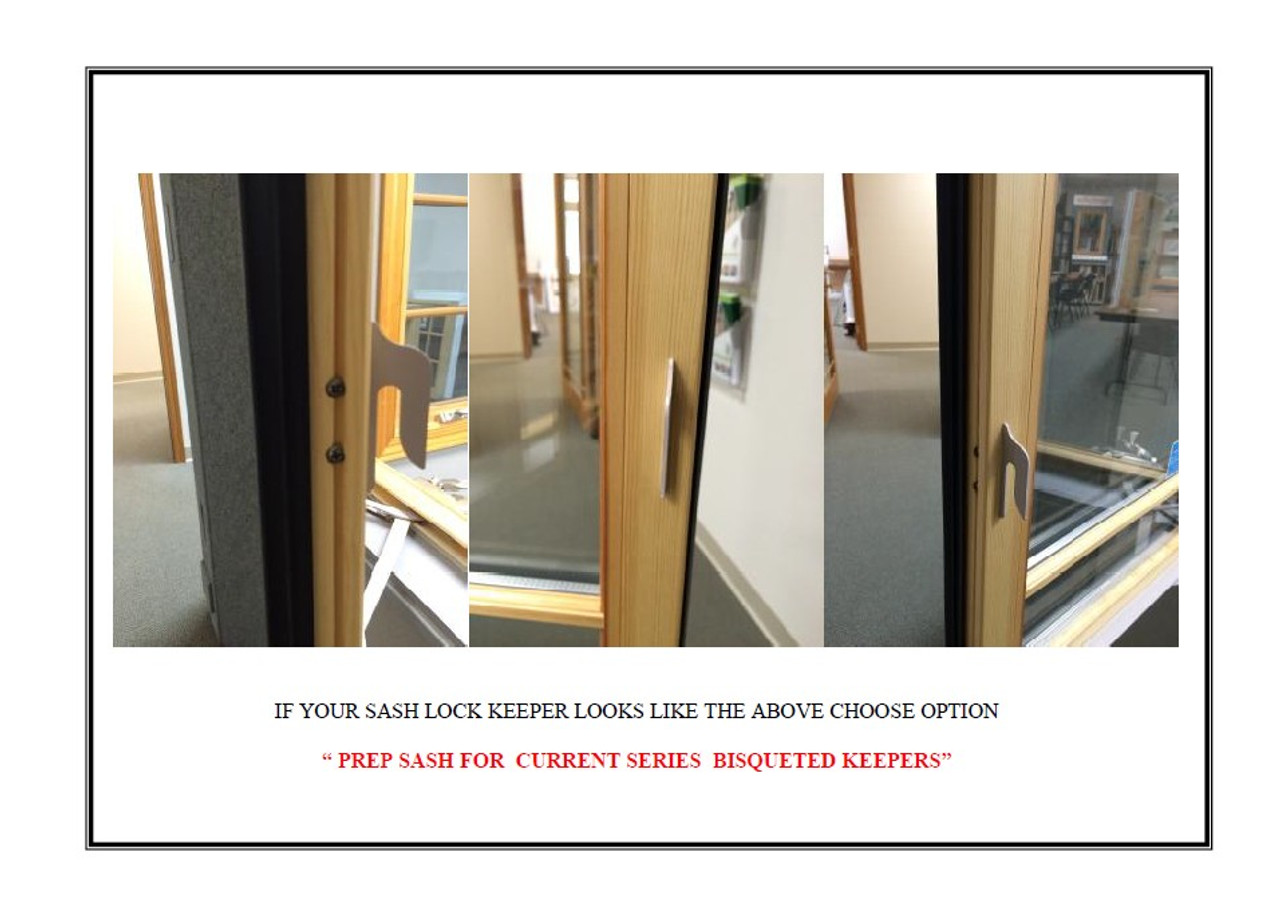 Lincoln  awning replacement sash from 1990 to present