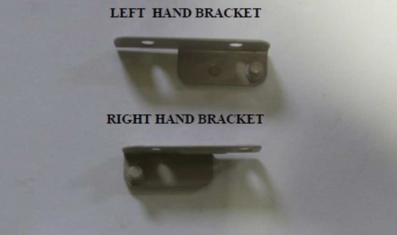 Sash bracket (truth) with screws for units with egress hing through 8/8/05