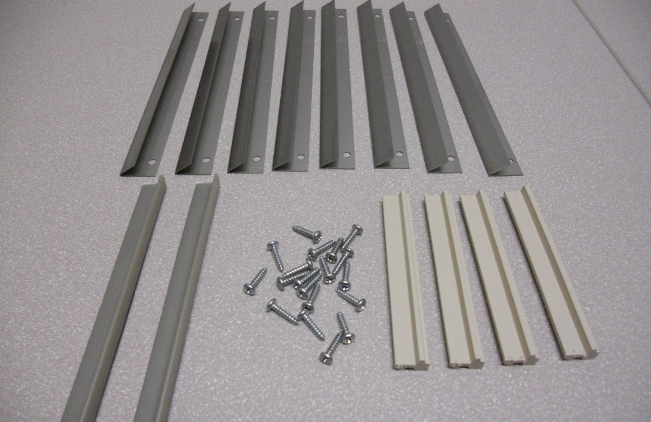 Lincoln stationary casement installation clips 199270