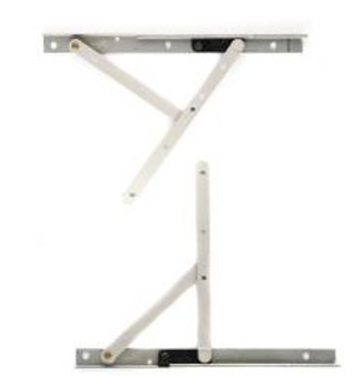 "Windsor  ""STANDARD"" Pinnacle casement Top & bottom set of hinge arms & track"