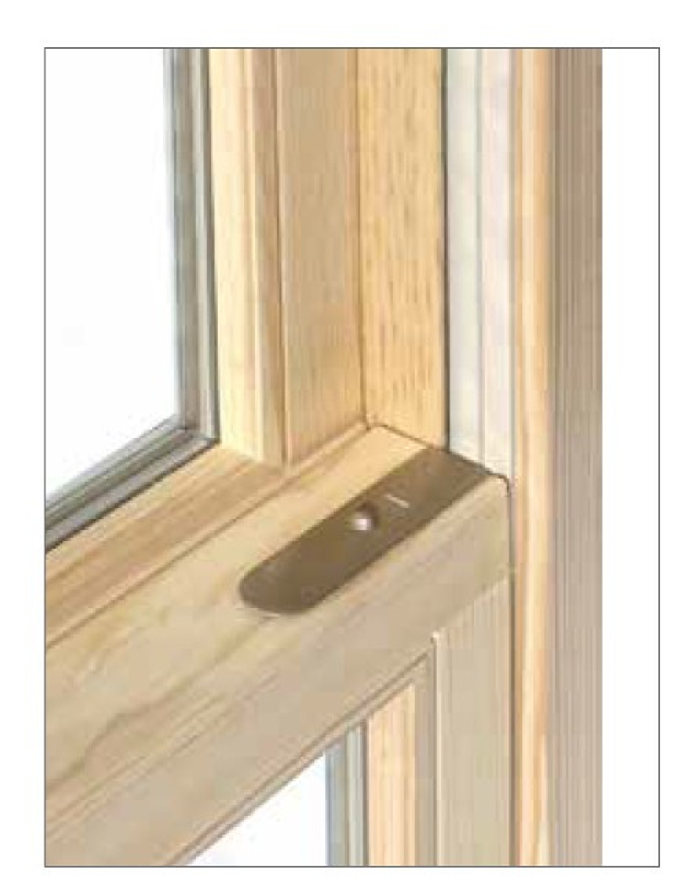 Custom sized replacement sash kits:  20'' to 44''  wide  and  30'' to 72'' tall