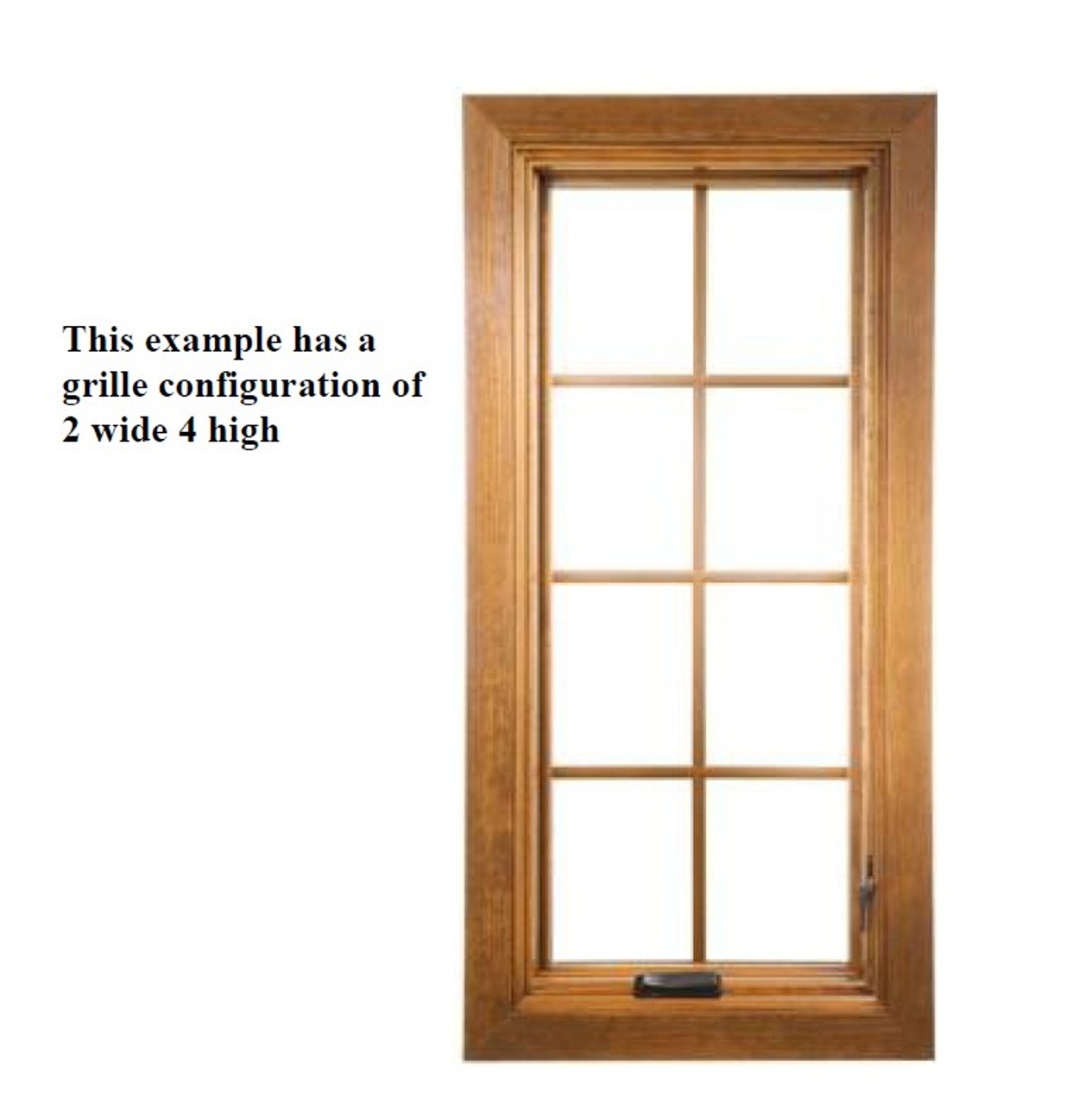 SEMCO Casement Traditional Wood grille ( for replacement sash only purchased February 2020 to present ONLY)