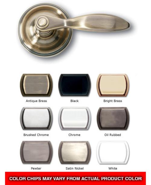 Standard Veranda door handle set with dead bolt