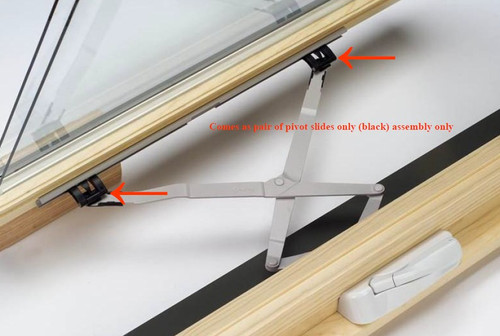 pair (qty 2each) Semco encore awning slider assembly 2504777