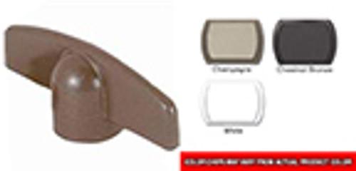 T-handle crank for casement window