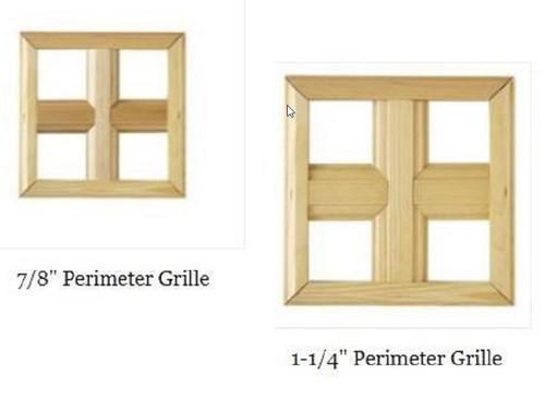 "Windsor  Pinnacle awning ""PRAIRIE STYLE"" wood grilles"
