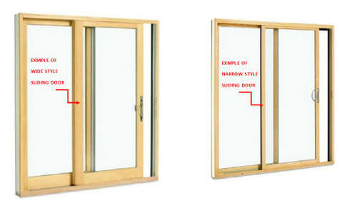 Lincoln Sliding door interlocks (come as pair) for the NARROW stile doors from 9/10/07 to 7/18/11