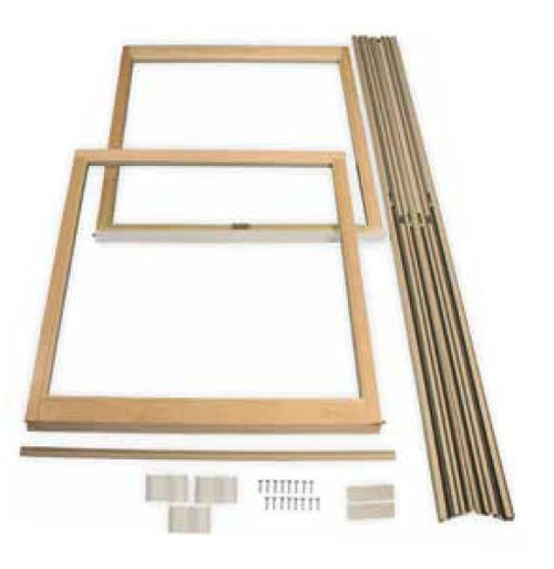 "LINCOLN REPLACEMENT SASH KITS ""CLEAR GLASS ONLY"" FOR EXISTING LINCOLN WINDOWS (1980 to 2004)"