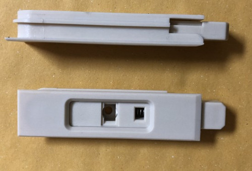 Lincoln Double Hung tilt latch covers with latch housing
