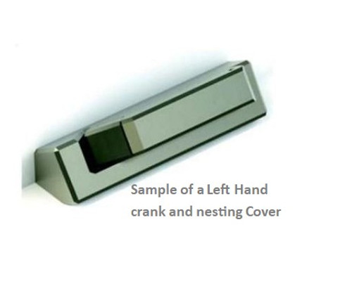 Operator cover and crank handle ( CONTEMPO STYLE) for Lincoln windows 2008 to present