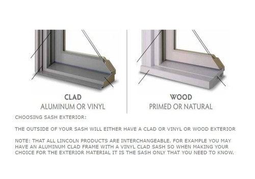 Weather Shield  clad wood replacement sash  actual window frame size = 24'' x 72 1/8'' visible glass =  19''w x 67'' h vintage 1994 non reglazable