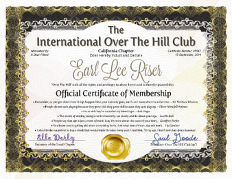 Over The Hill Club