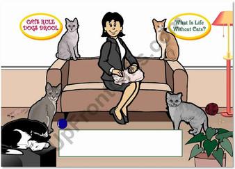 Cat Enthusiast Female