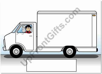 Delivery Truck Male