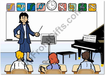 Middle School Teacher Female