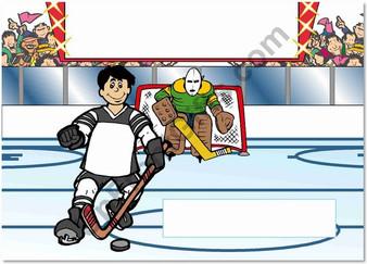 Hockey Player Male
