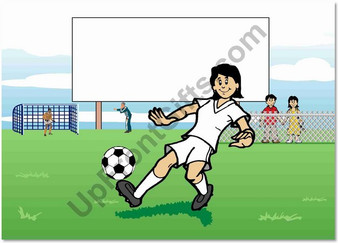 occer Player Youth Female