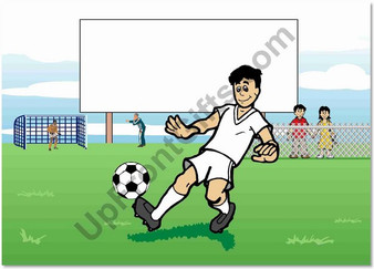 Soccer Player Youth Male