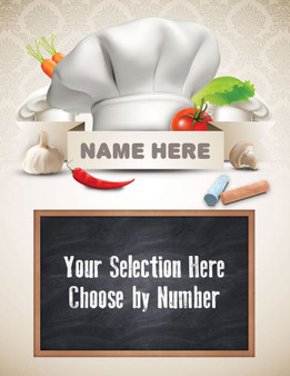 Kitchen Expressions - Personalized Menu Board