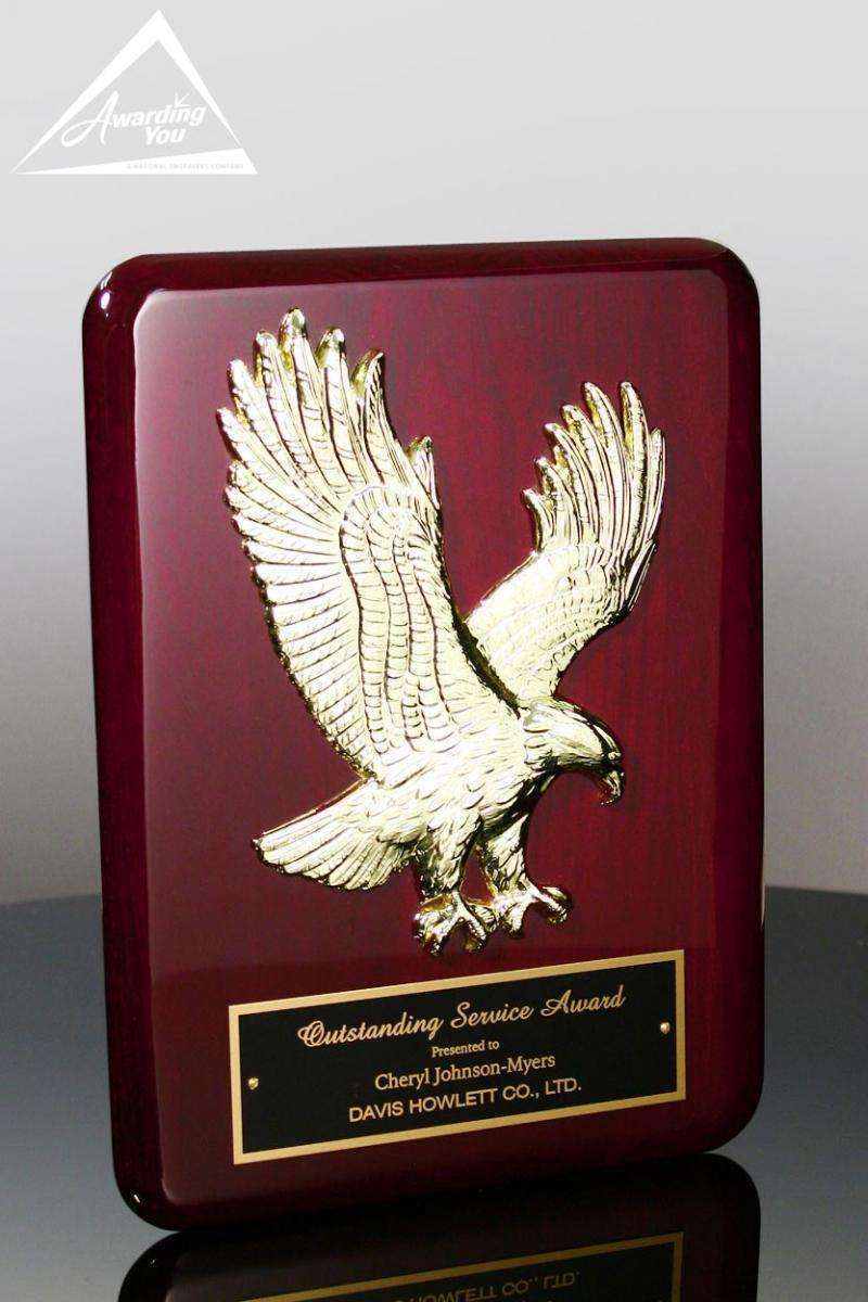Outstanding quality awards are often presented as plaques