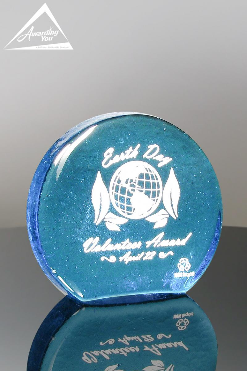 Recycled Glass Awards are perfect for recognizing sustainability