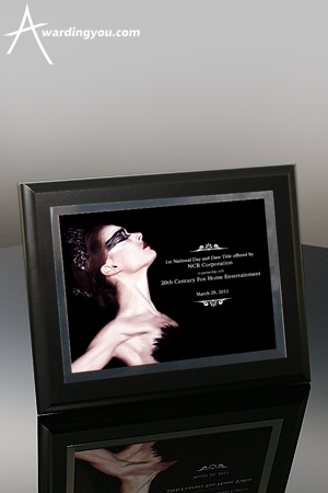 Color Photography Makes Stunning Award Plaques