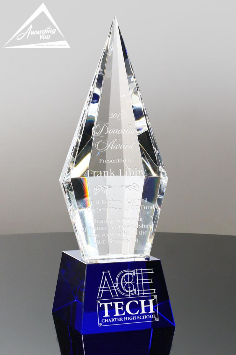 Recognize your top dealers with the Starphire Diamond Crystal Award
